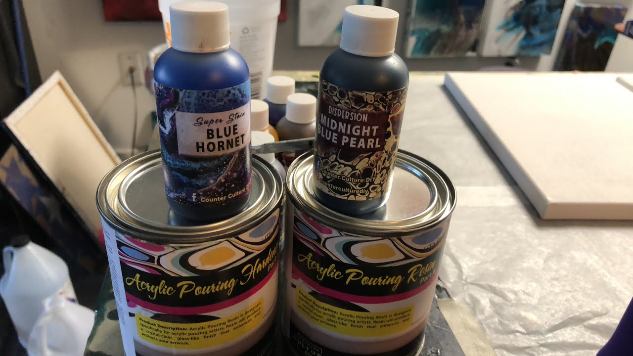 Testing new resin!!! Counter Culture DIY Resin and Paints