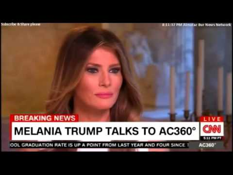 Full Interview with Melania Trump Speaks about Donald Trump