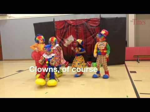 Sherman School  kindergarten circus
