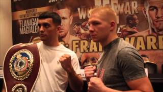 JACK CATTERALL v JARKKO PUTONEN - HEAD TO HEAD @ FINAL PRESS CONFERENCE / WORLD WAR 3