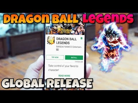 How To Download Dragon Ball Legends In Android | DRAGON BALL LEGENDS GLOBAL RELEASE !!!