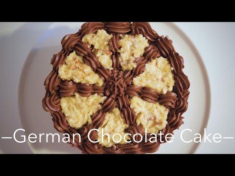 recette-du-german-chocolate-cake---william's-kitchen