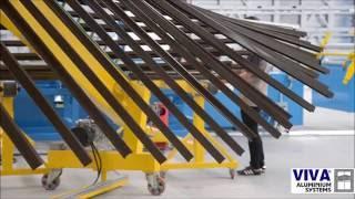 Порошковая покраска алюминиевого профиля VIVA на заводе в Болгарии(, 2016-09-30T06:31:16.000Z)