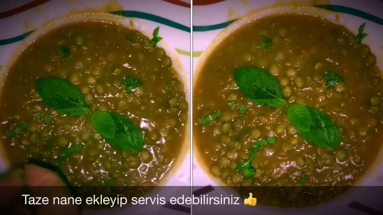Yeşil Mercimek Yemeği Videosu