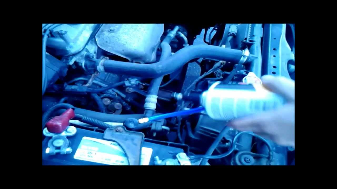 Honda Accord Lx >> Add some Freon to 99 Honda Accord LX - YouTube