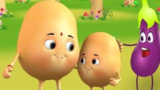 உருளைக் கிழங்கு செல்லக்குட்டி பாடல்கள் Chellakutti Potato Song | Children Kids Tamil Nursery Rhymes