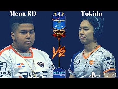 Capcom Cup 2017: MenaRD Vs Tokido [GRAND FINALS] [HYPE]