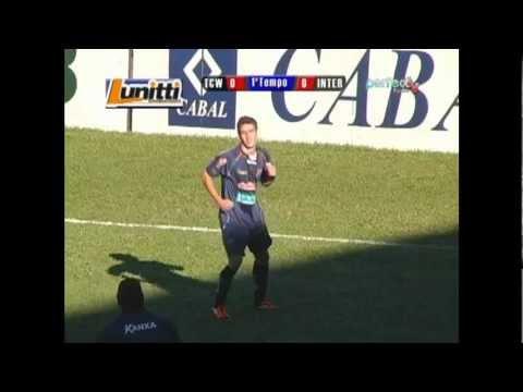 Gol do Rafinha Domingues contra o Inter B