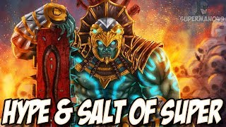 THE DESTROYER OF WORLDS 81% COMBO! - Mortal Kombat X Hype & Salt Of Super #18