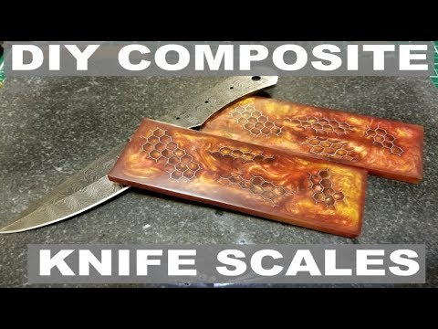 MAKING COMPOSITE KNIFE HANDLES / SCALES IN THE GARAGE - ELEMENTALMAKER