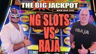 NG SLOTS VS RAJA ⚡LIGHTNING LINK CHALLENGE +  BONUS ROUND JACKPOT!