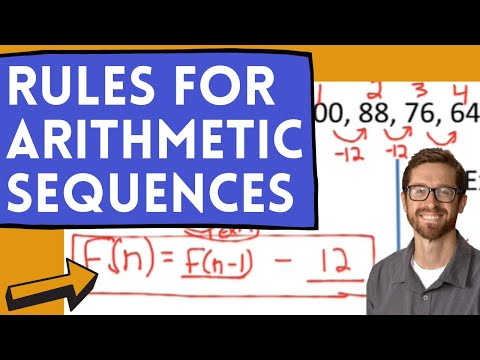 Explicit And Recursive Rules For Arithmetic Sequences