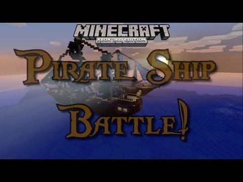 Xbox 360 Minecraft PVP Pirate Ship Battle Royal! (DOWNLOAD)