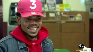 Chance the Rapper Interview on Remaining Unsigned, His Tattoo and Being a Dad | ABC News thumbnail