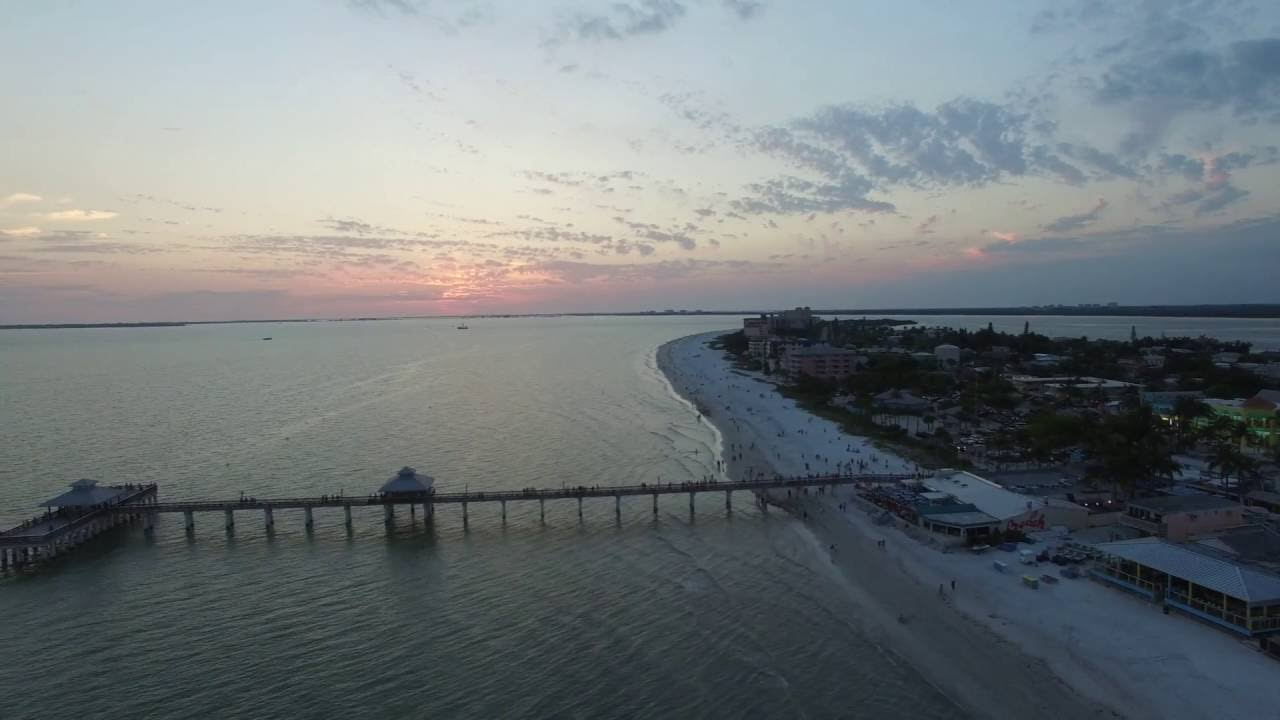 Aerial Fort Myers Beach