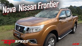 Avaliação Nova Nissan Frontier LeE 2.3 Turbo diesel  | Canal Top Speed