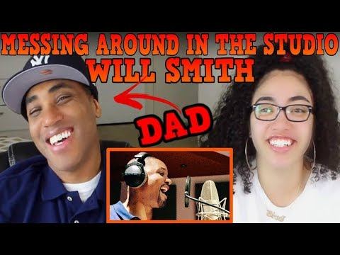 MY DAD REACTS TO Will Smith Messing around in the studio REACTION