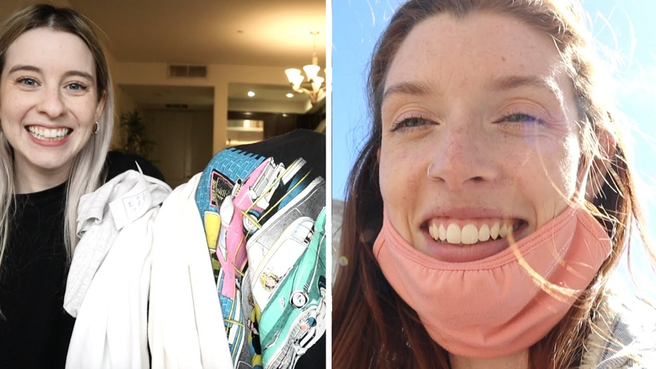 THRIFTING HAUL, PERFECT FALL DAY, RARE BEAUTY REVIEW!! (daily vlog)