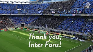 THANK YOU, INTER FANS! 🙌🏻⚫🔵🏟