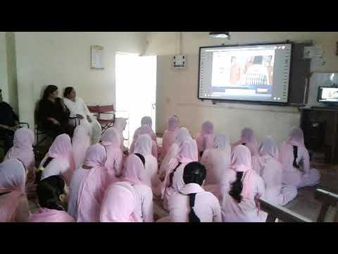 """GIR SOMNATH P.M. PROGRAMME """"Pariksha Par Charcha""""- shababa girls high school   veraval"""