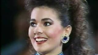 MISS UNIVERSE 1988 Top 10 Interview ( 1 / 2 )
