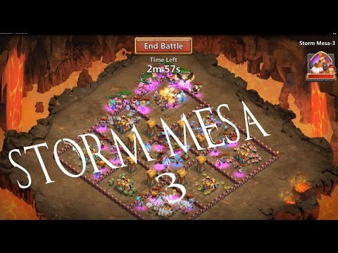 Storm Mesa-3 IN CASTLE CLASH