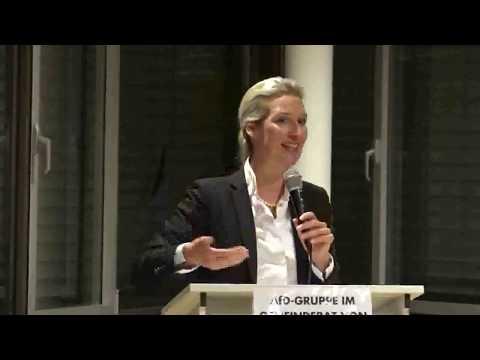 Sehens- und hörenswerte Rede von Dr. Alice Weidel, AfD in Karlsruher Badener-Landhalle. 12.01.2020