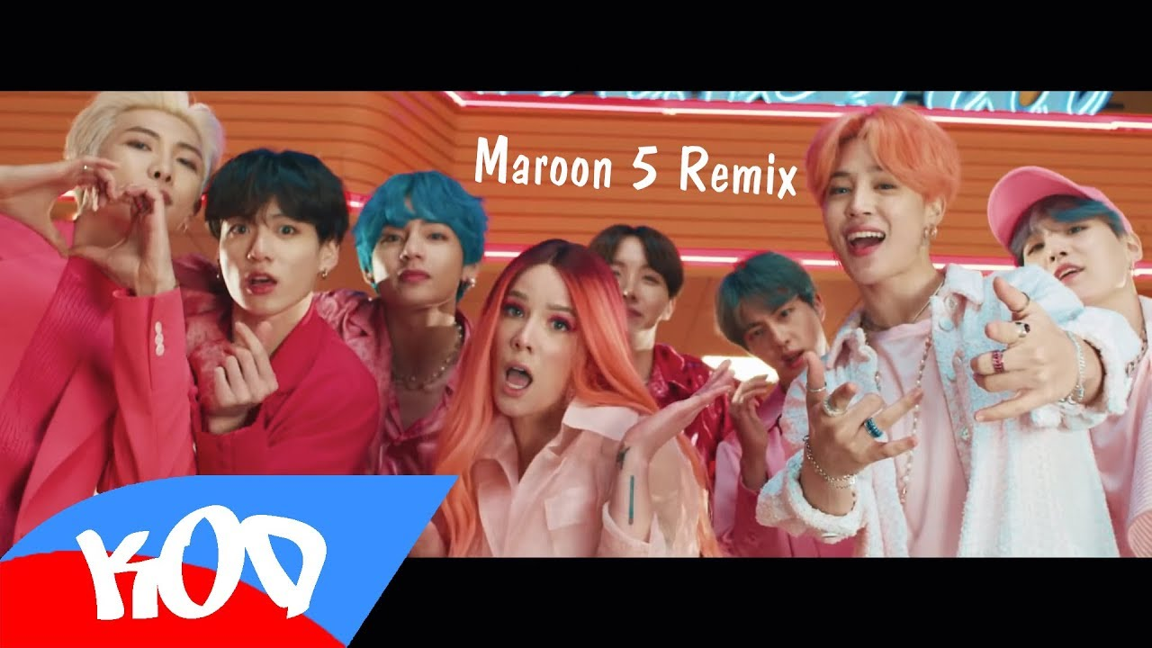 BTS & Halsey - Boy With Luv (Maroon 5 Remix) - KoD MUSIC