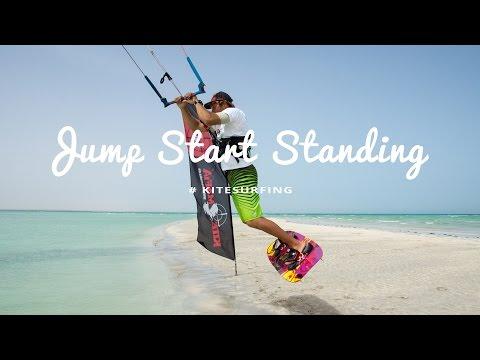Jump Start Standing beim Kiten – Tipps zum sicheren Erlernen by kitereisen.tv