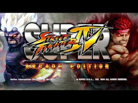 Super Street Fighter IV Arcade Edition Proper Title/announcer - PC