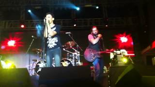 Melodrama feat. David Kennedy AVA - Secret Crowds (live at Rock Fest 2012)