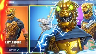 New BATTLEHOUND SKINS Update! DUOS With My LITTLE BROTHER In Fortnite! (New Fortnite Skins Update)