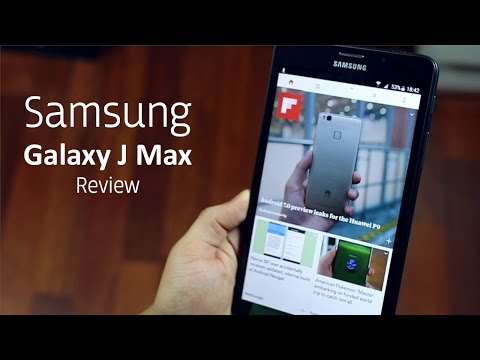 Samsung Galaxy J Max Unboxing and Review