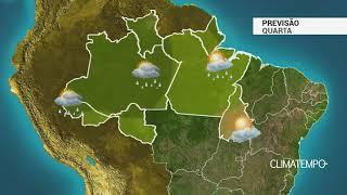 Previsão Norte - Calor e risco de chuva forte