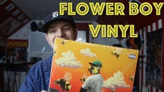 Flower Boy Vinyl Unboxing/Kind of Review