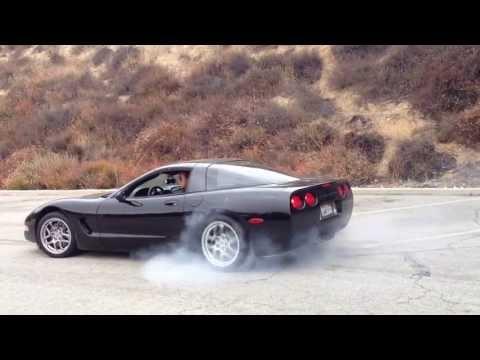 1999 C5 Corvette Burnout