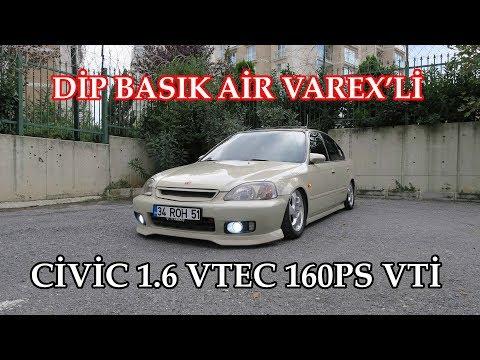 Air'lı Dip Basık 1.6 Vti 160ps Cıvıc Kullandık | VAREX İÇERİR