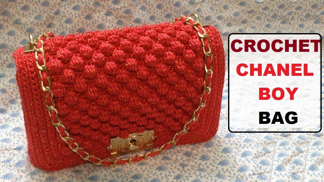 Popolare How to crochet Chanel boy bag - YouTube JN01
