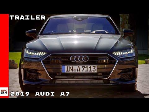 2019 Audi A7 Sportback Commercial Trailer