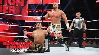 Buddy Murphy uses brute force to counter Akira Tozawa: WWE Elimination Chamber 2019 Kickoff Match