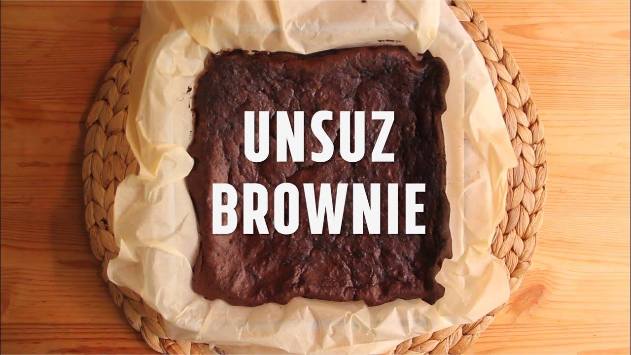 Unsuz Şekersiz Browni Tarifi