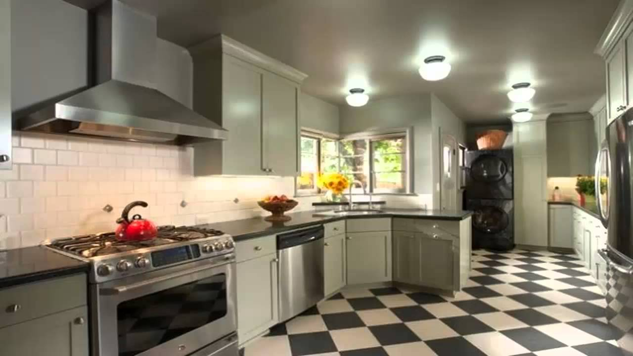 Vintage Design Kitchen Floors