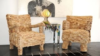 Diy Wine Cork Resycle Ideas, Furniture, Decoration, Art