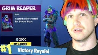 EPIC GAMES GAVE ME A CUSTOM FORTNITE SKIN!? 🤨 Reading Your Comments #21