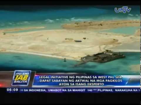 Legal initiative ng Pilipinas sa West PHL Sea, dapat sabayan ng aktwal na mga pagkilos — expert