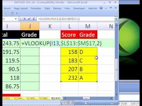 gradebook excel