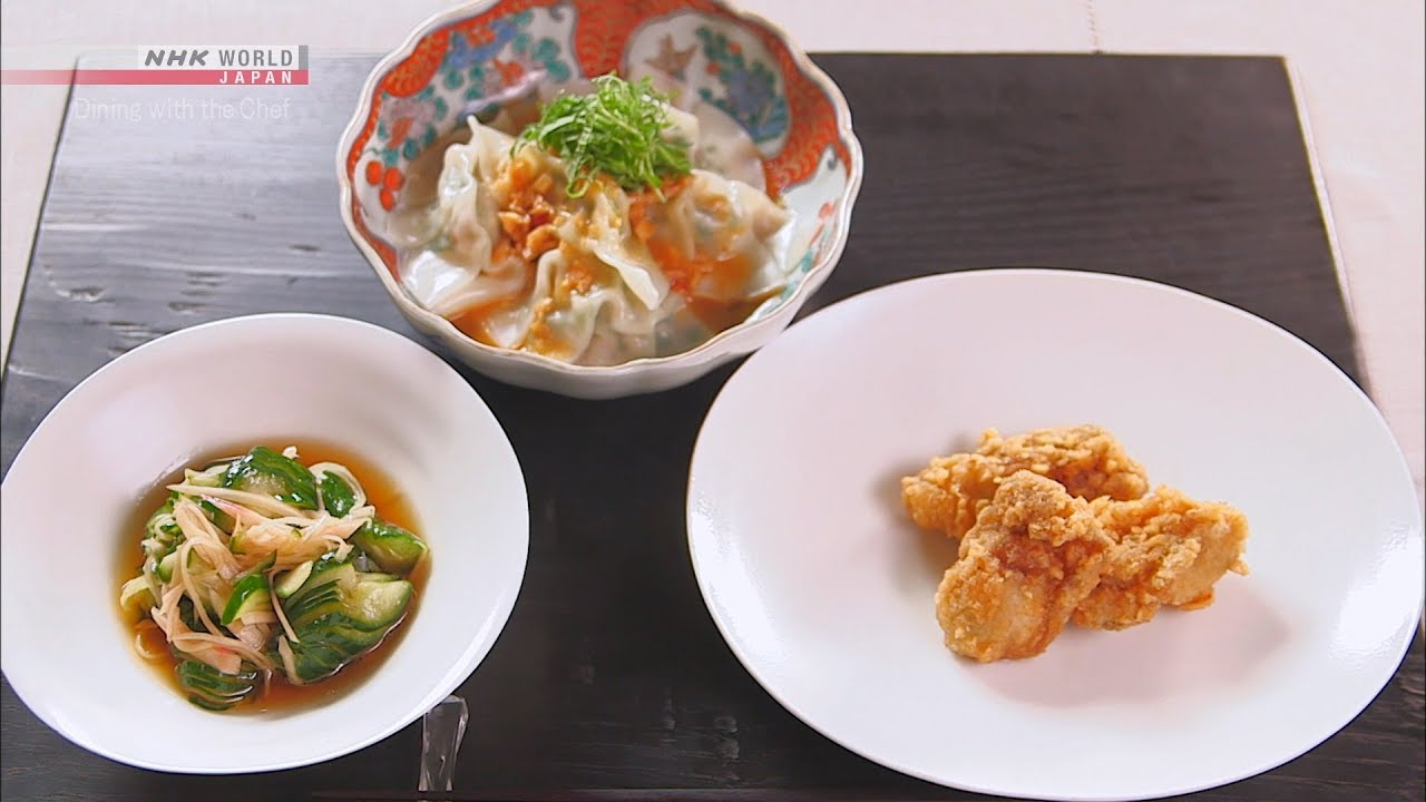 Photo of Chef Rika's Three Ginger Dishes [Japanese Cooking] – Dining with the Chef – video