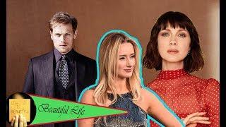 Amy Shiels's sister secret met Outlander's Caitriona Balfe before wedding of Sam Heughan