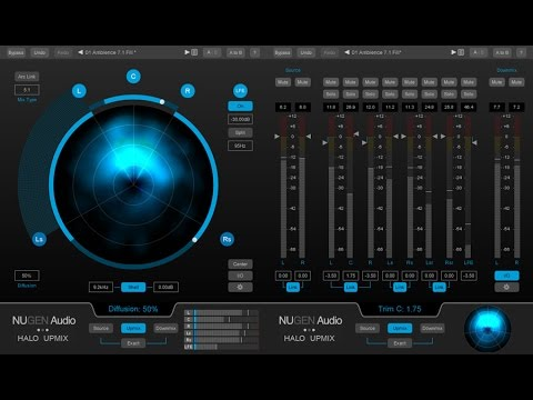 Make Surround 5.1 Audio from Stereo Source (Method 1)