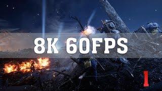 Battlefield 1 8K PC Gameplay - Nivelle Nights | TRUE 8K (7680x4320) | Titan Xp 4 Way SLI | ThirtyIR